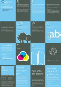 A-Z Guide to Print-KMS-Side B