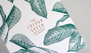 The Colour Green-Metallic Ink and Pantone Spots