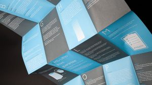 Print for Marketing-KMS Litho A-Z Guide to Print Leaflet