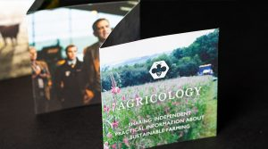 Print for Marketing-KMS Litho Print Portfolio-Daylesford Agricology Leaflet